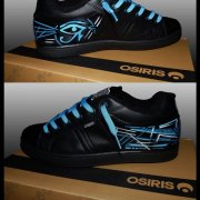 Custom sur shoes Osiris